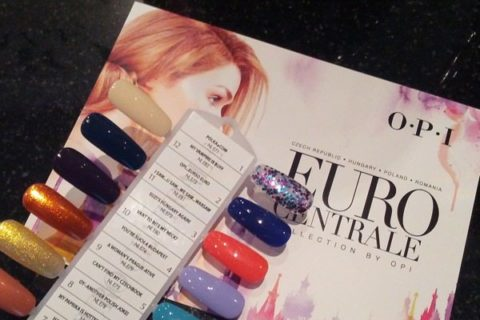 OPI Euro Centrale collection Spring 2013 nail polish