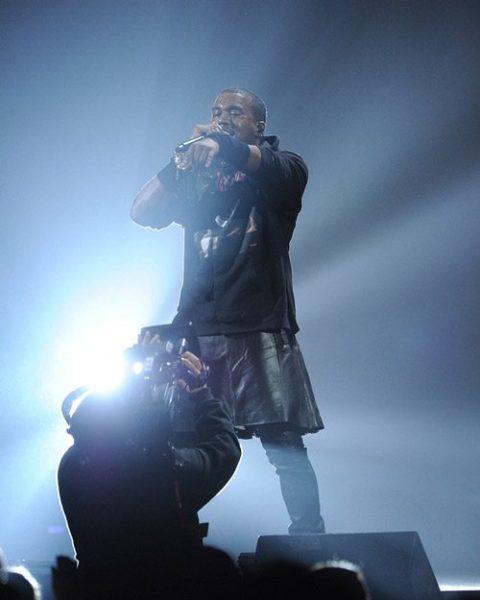 Kanye West Skirt Worst Dressed 2012