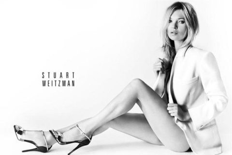 Kate Moss Stuart Weitzman Ads