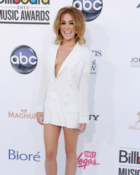 Miley Cyrus Red Carpet Worst Dressed 2012