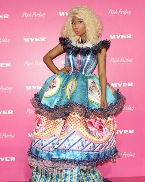Nicki Minaj Red Carpet Worst Dressed 2012