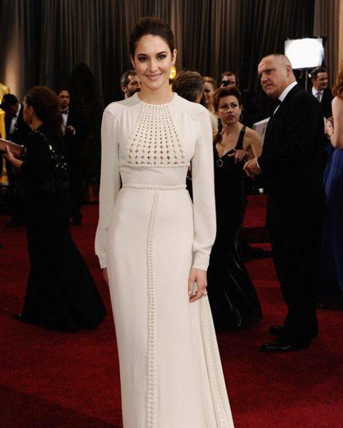 Shailene Woodley Oscars Worst Dressed 2012