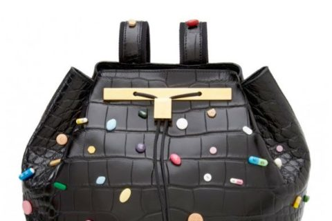 The Row Damien Hirst Croc Backpack