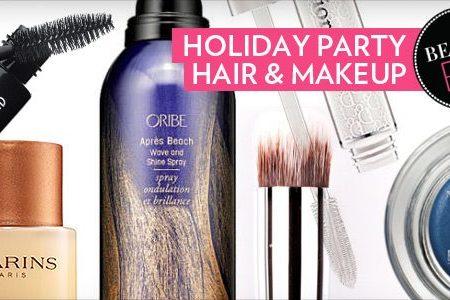Holiday Hair Holiday Makeup