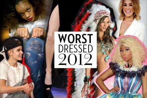 Worst Dressed 2012