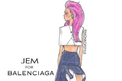 Jerome Lamaar Fashion Cartoons