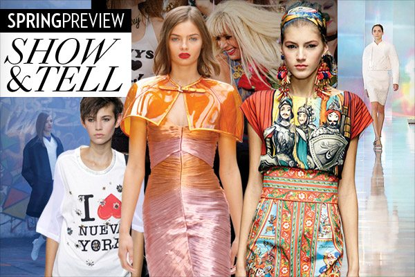 Spring 2013 Top Fashion Moments