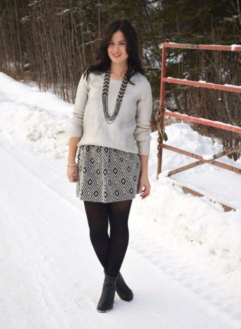 Winter Knits Melanie Morais