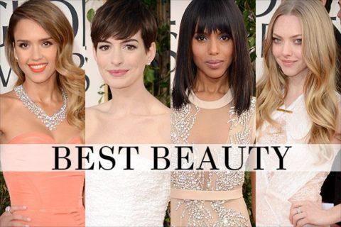 Golden Globes 2013 best beauty trends hair makeup