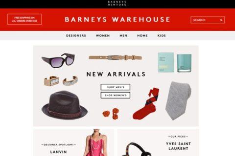 Barneys Warehouse Site