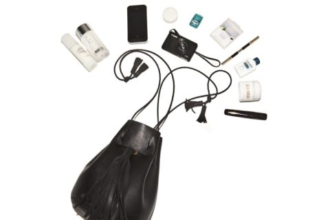 Into The Gloss Emily Weiss in her purse