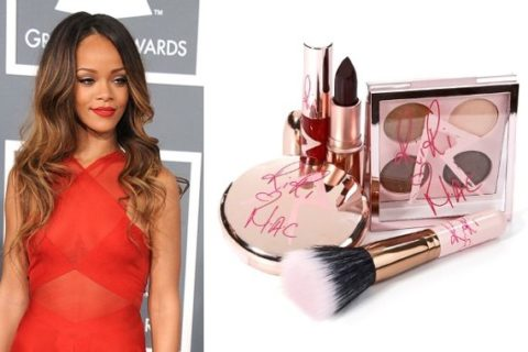 Rihanna MAC makeup RiRi Hearts MAC