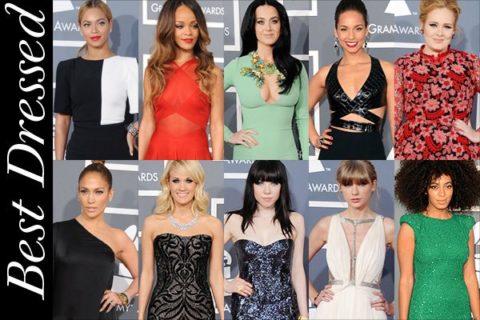 Best Dressed 2013 Grammys