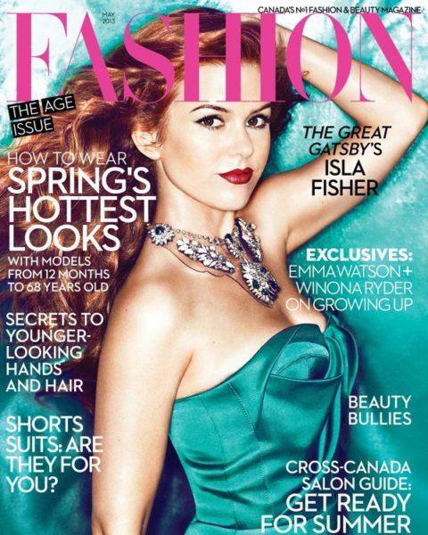 Fashion Magazine May 2013 Isla Fisher