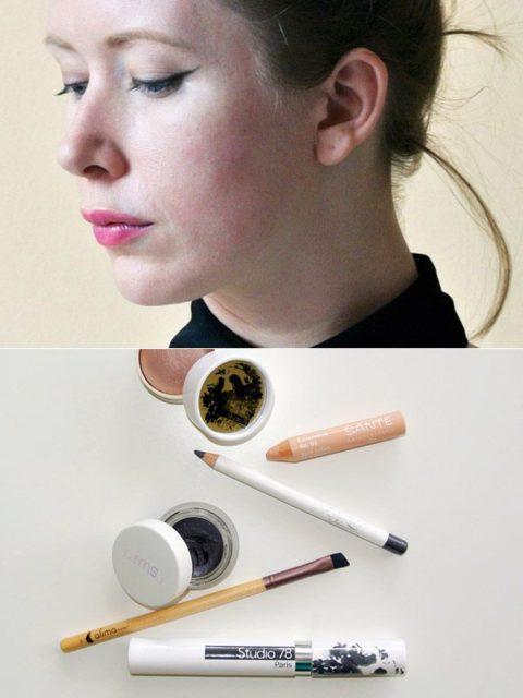 Cat-eye liner makeup tutorial - Andrea