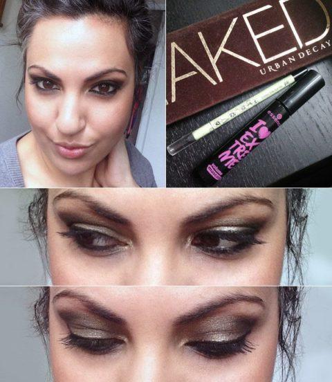 Cat-eye liner makeup tutorial - Anjali