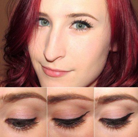 Cat-eye liner makeup tutorial - Dee