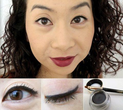 Cat-eye liner makeup tutorial - Elaine
