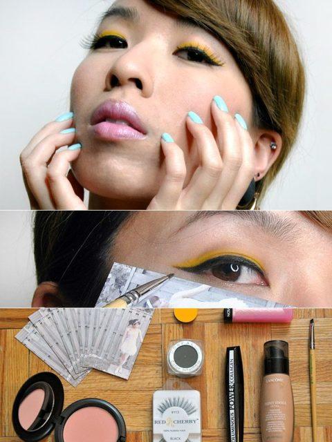 Cat-eye liner makeup tutorial - Emily