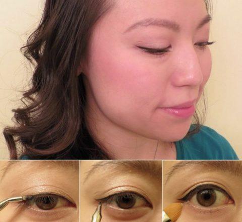 Cat-eye liner makeup tutorial - Fiona