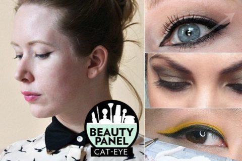 Cat-eye liner makeup tutorial