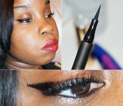 Cat-eye liner makeup tutorial - Jennifer
