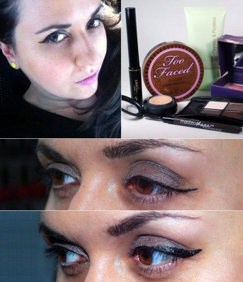 Cat-eye liner makeup tutorial - Sandra D