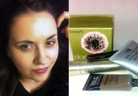 1990s beauty trend makeup - Sandra