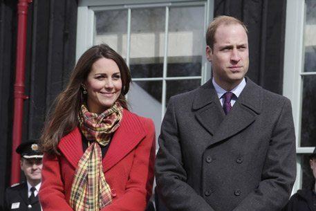 Duchess of Cambridge visits Scotland in Armani