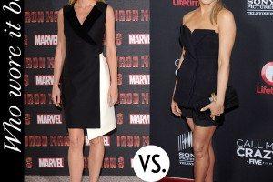 Gwyneth Paltrow Jennifer Aniston Dior