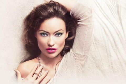 Revlon Nude Expressions nail polish Olivia Wilde