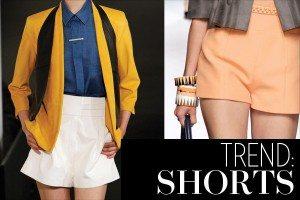 spring fashion 2013 shorts trend