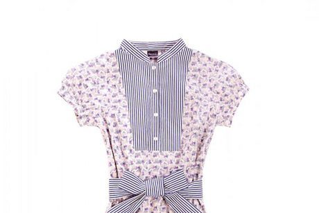 Suno Uniqlo printed belted dress