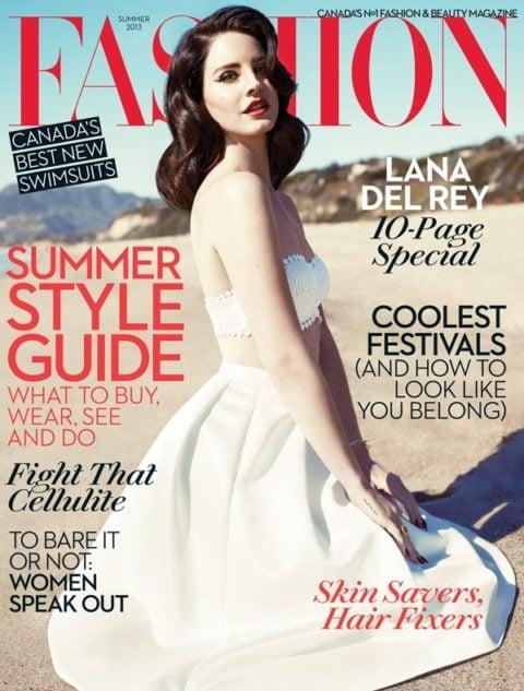 Fashion Magazine Summer 2013 Lana De Rey