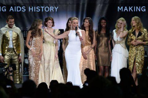 Sharon Stone amFAR Gala 2013