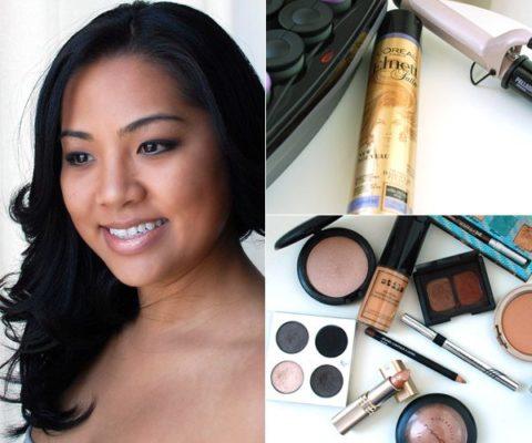 celebrity hair and makeup tess