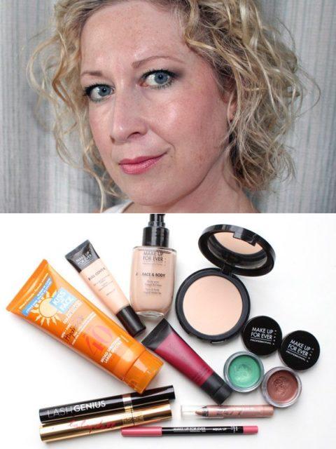 Waterproof makeup - christa
