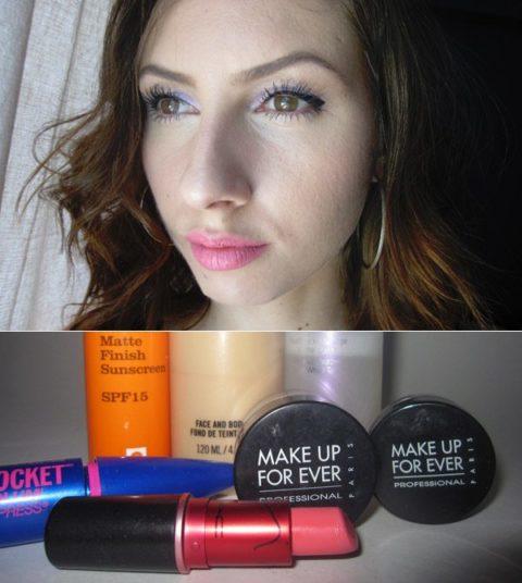 Waterproof makeup - ellie