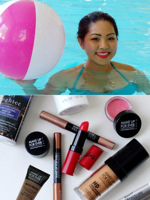 Waterproof makeup - tess