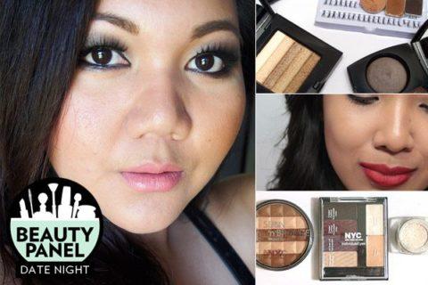 date makeup beauty panel