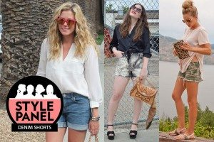 How to Wear Denim Shorts Style Panel