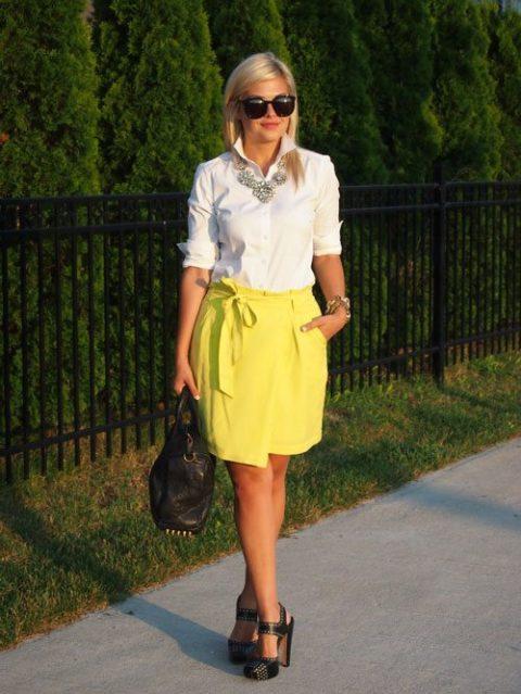 How to wear neon Krystin Lee