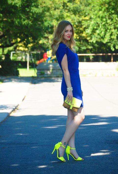 How to wear neon Nicole Wilson