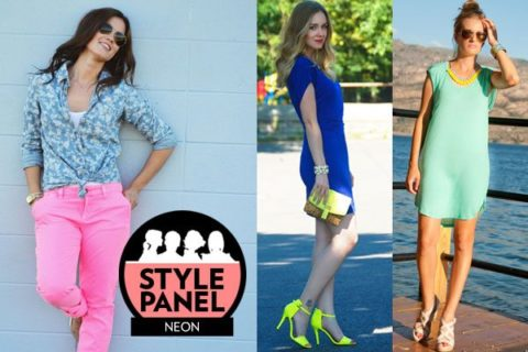 How to wear neon Style Panel