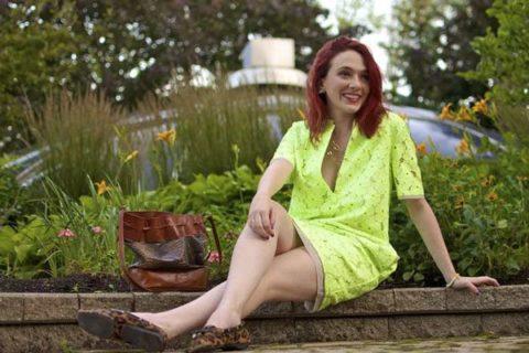 How to wear neon Barbara Ann Solomon