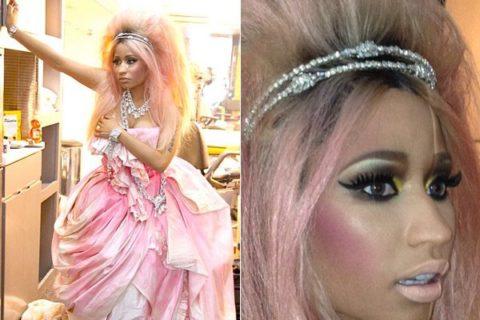 Nicki Minaj David LaChapelle fragrance