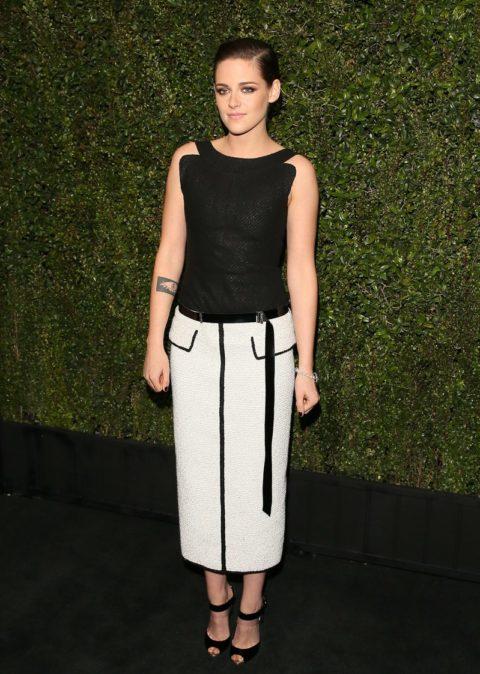 Kristen Stewart Chanel Pre Oscar Dinner