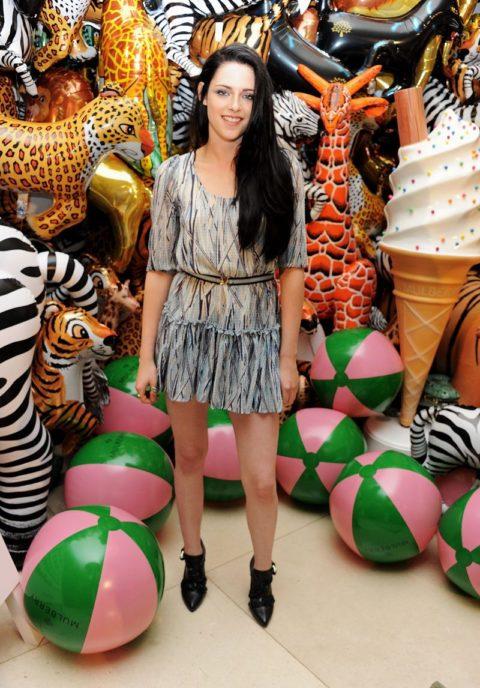 Kristen Stewart Mulberry London Fashion Week September 2011