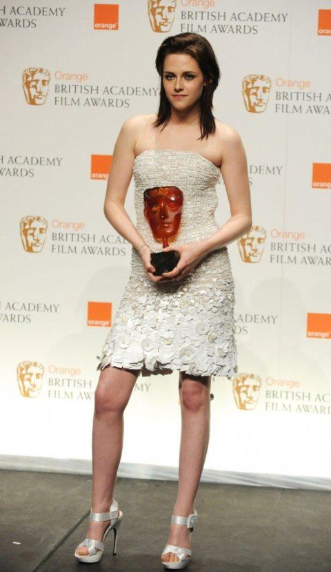 Kristen Stewart Orange British Academy Film Awards February 2010
