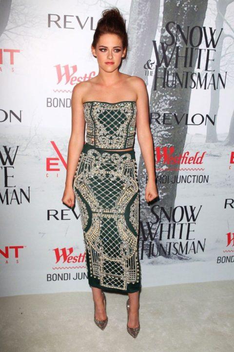 Kristen Stewart Snow White and the Huntsman Australian premiere June 2012